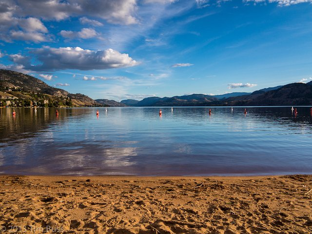 Skaha Lake Beach