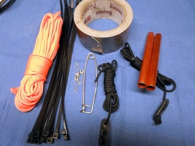 Build a repair kit for your off-Road gear