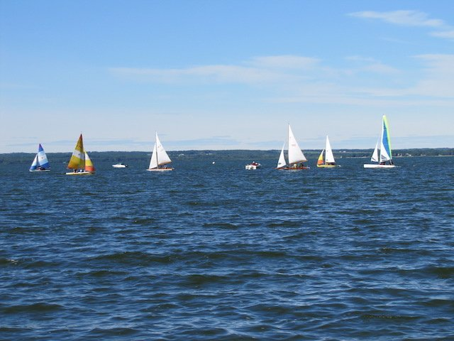 Pigeon Lake Provincial Park Sailing