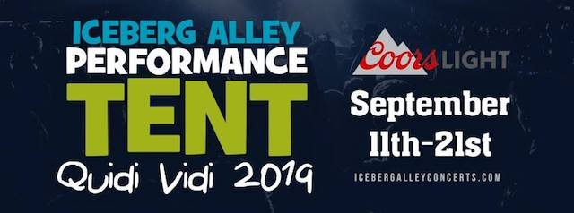 Iceberg Alley Performance Tent