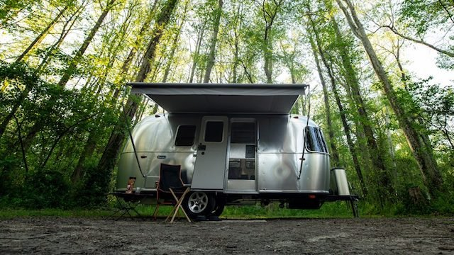 Airstream Bambi Travel Trailer Exterior