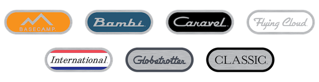 Airstream badges