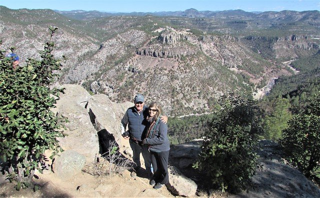 Brave Souls on the edge of Copper Canyon.jpg