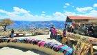 Tarahumara market with a view at Divisadero.JPG