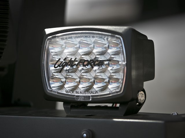Lightforce Striker LED Driving Lights at Expo West photo Mercedes Lillienthal.jpg