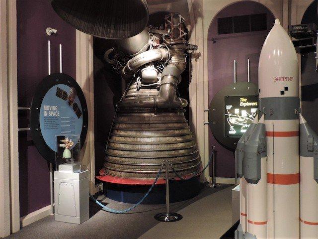 Model of J2 engine for Saturn V Rockets.