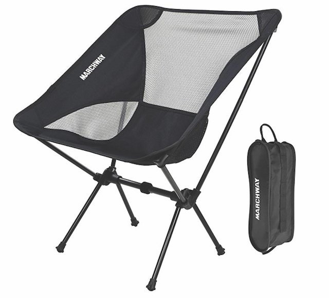 Marchway Ultralight Folding Camping Chair Suncruiser