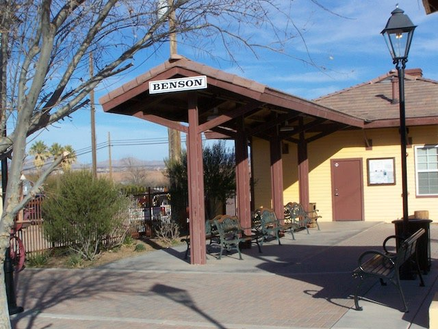 Benson, Arizona Train Depot/ Visitor Cente