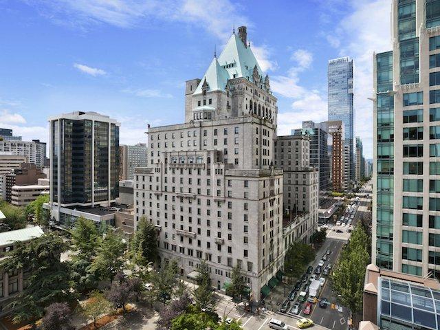 Fairmont Hotel Vancouver.