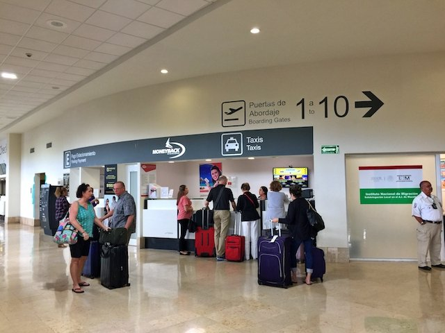 Official airport taxi stand.JPG