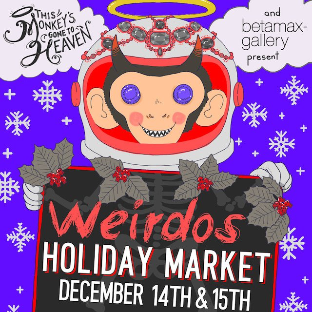 Weirdos Holiday Market 2019
