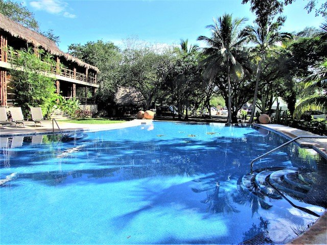 Lodge at Uxmal Pool.JPG