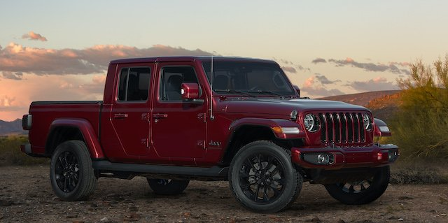 2020 Jeep Gladiator High Altitude in Snazzberry