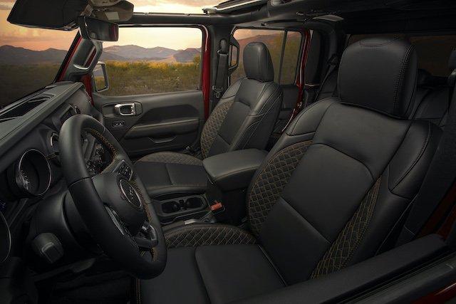 2020 Jeep Gladiator High Altitudefeatures a full leather luxury interior