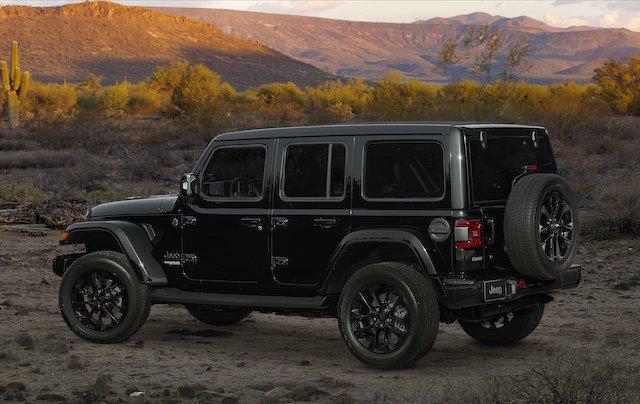 2020 Jeep Wrangler High Altitude in Black