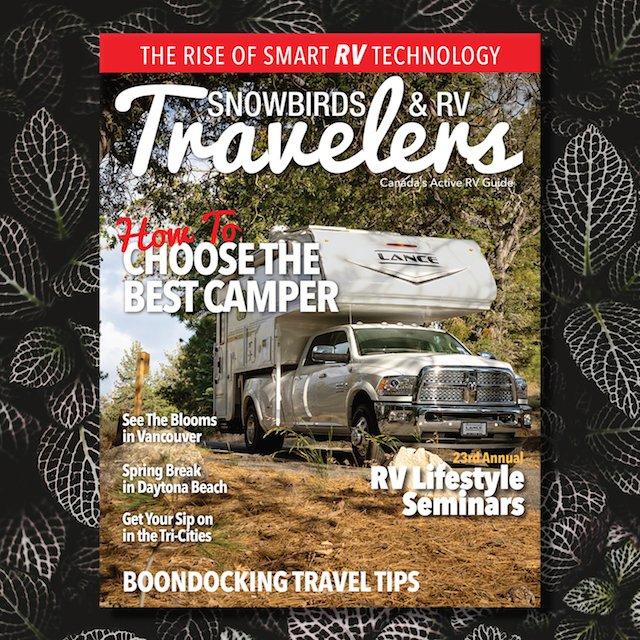 Snowbirds & RV Travelers 17.2 Cover