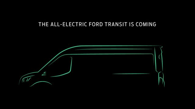 Electric Ford Transit