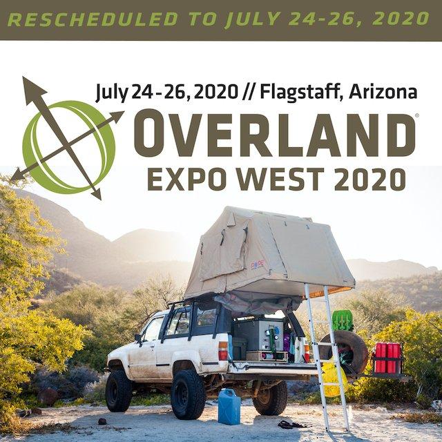 Overland Expo 2020 West Rescheduled