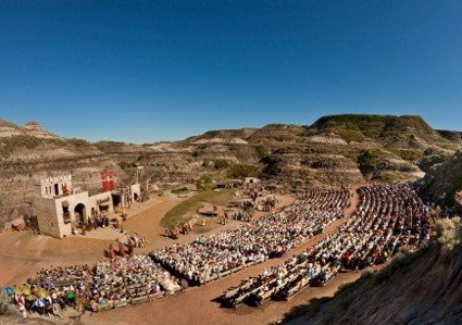 badlands passion play