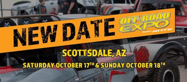 Off-Road Expo in Scottsdale Rescheduled