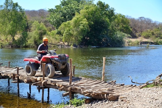 Rickety but strong bridge for the river crossing 3 photo Perry and Cindy Mack.JPG