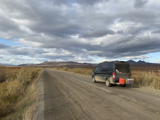 Lead Big skies on the Dempster Highway photo Wes Kirk.jpg