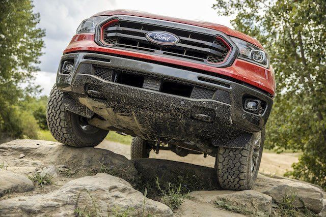 1 Off-road ready with front tow hooks and underbody armour but no winch ready bumper photo Ford.jpg