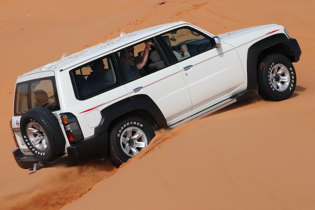 2. The Nissan Patrol is equally at home in Saharan sand or  Canadian wilderness.JPG