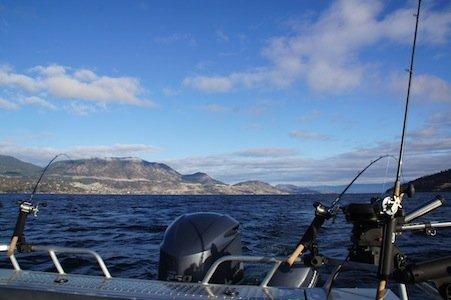 Okanagan Lake Fishing