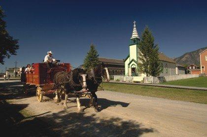 Fort Steele Wagon Ride
