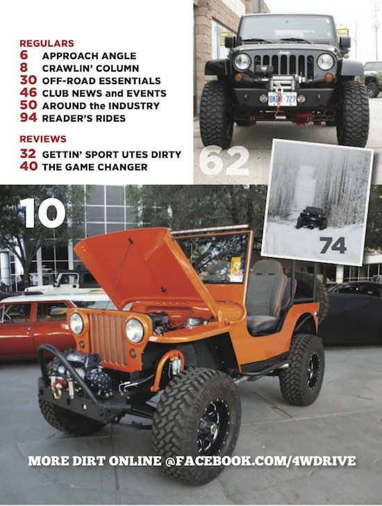 4WD 156 Contents 2