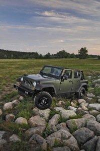 Jeep J8 Army