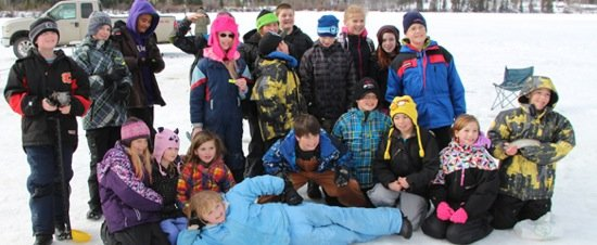 Learn to Ice Fish This Family Day