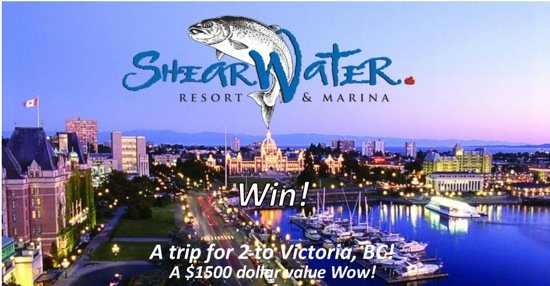 Win a $1500 Trip For Two to Victoria