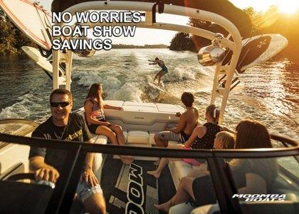 No Worries Moomba Boat Show Savings