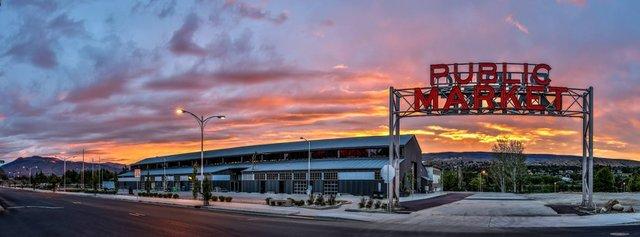 Wenatchee - Pybus Public Market Sunrise