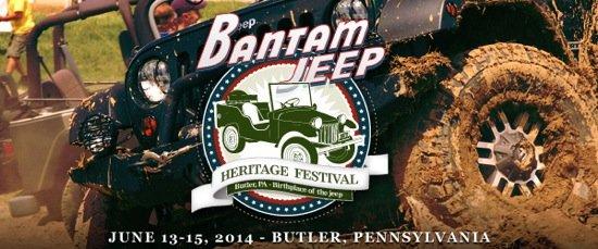 2014 Bantam Jeep Heritage Festival - June 13-15
