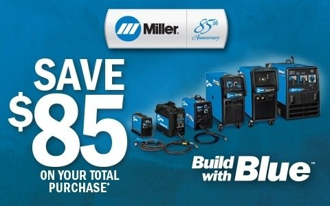 Miller Electric Build with Blue
