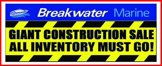 Breakwater Marine Construction Sale