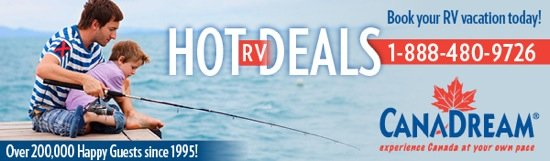 Canadream Hot RV Deals logo