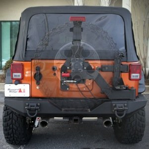 Tire Carrier for Jeep Wrangler JK