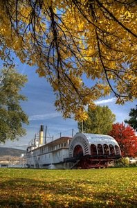 The Paddle Wheeler in the Autumn (Micheal Nelson).jpg