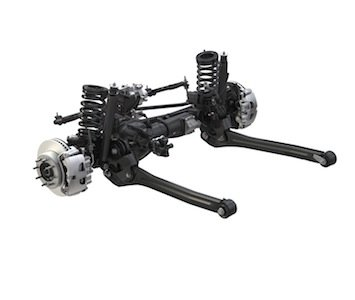 2014 Ram Power Wagon front axle