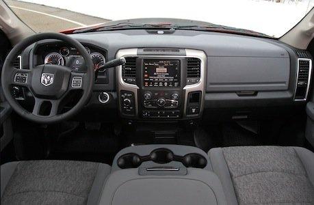 2014 Ram Power Wagon interior