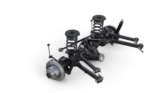 2014 Ram 2500 Heavy Duty rear axle