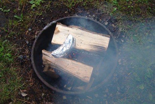 Campfire Banana Boat