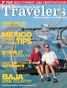 Snowbirds & RV Travelers Aug Sept 2012
