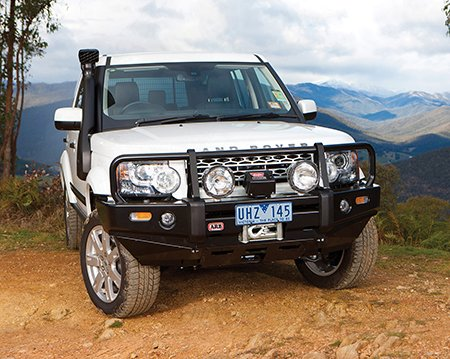 Land Rover LR4 ARB Deluxe Winch Bar