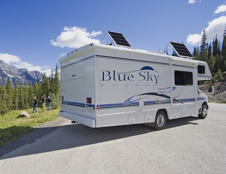 Blue Sky Energy Motorhome