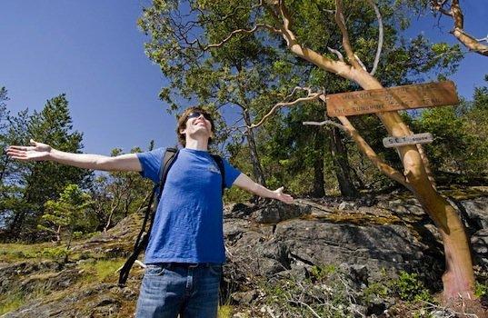 Hiking the Sunshine Coast